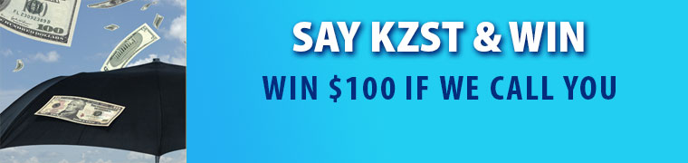 Say KZST and Win